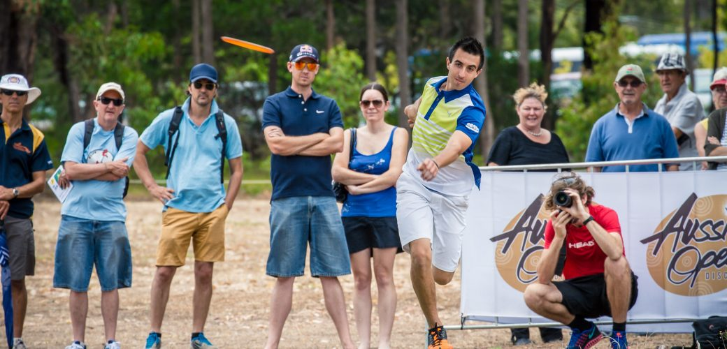 4 x World Champion Paul McBeth at the 2015 Aussie Open