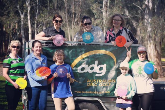 The Women of Victorian Disc Golf