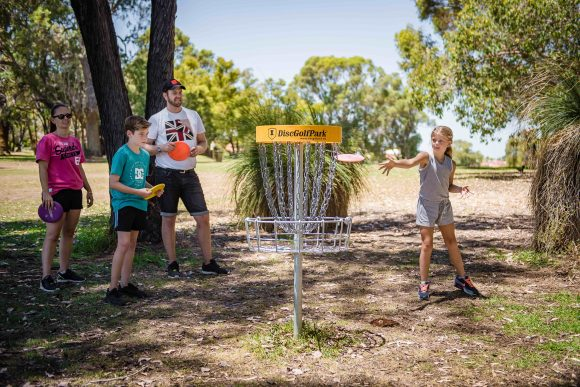 Disc Golf Family